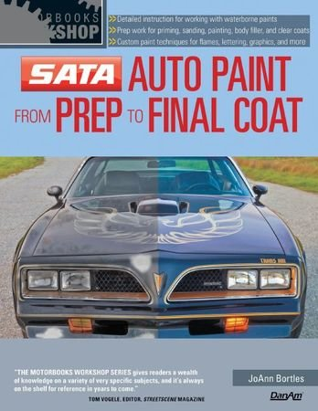 JoAnn Bortles - SATA Auto Paint from Prep to Final Coat