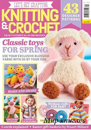 Let's Get Crafting Knitting & Crochet №109 2019